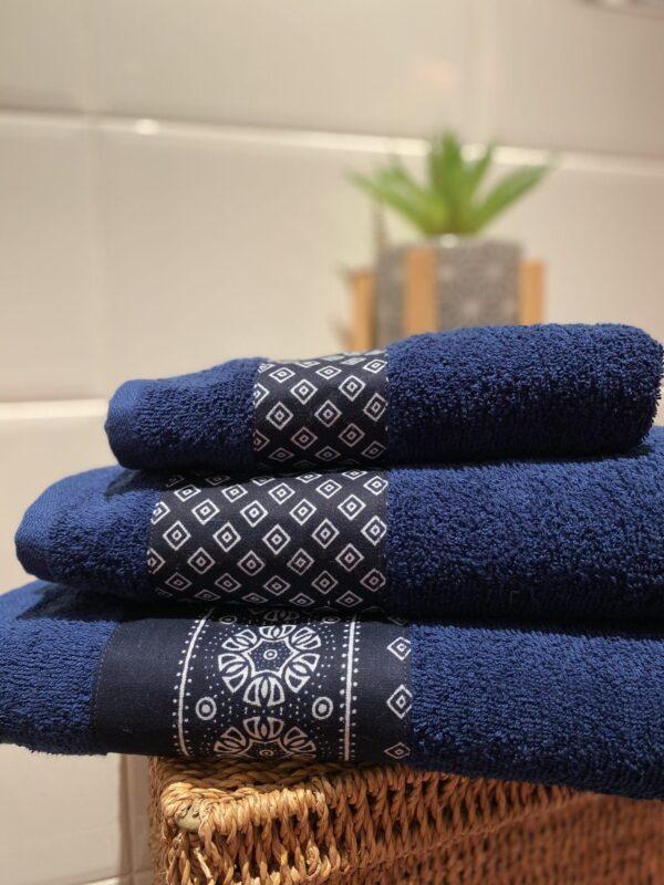 Midnight Ocean Towel Set - main product image
