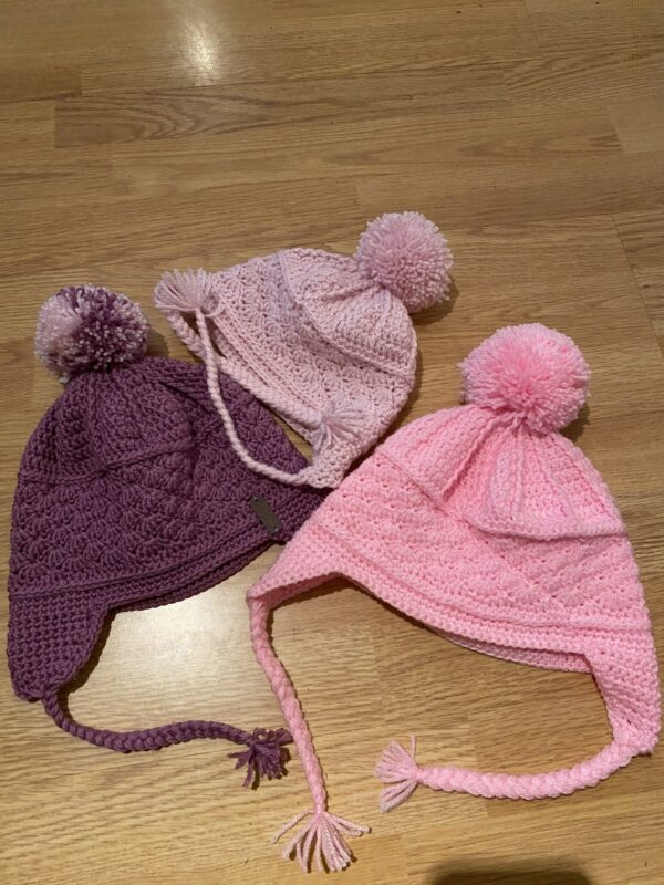 Mini and me bobble hats - product image 3