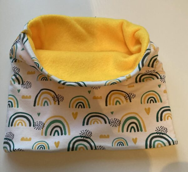 Child's greens rainbow snood age 3-6 - product image 3