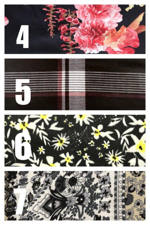 Bandana style face covering and scarf Set B - product image 2