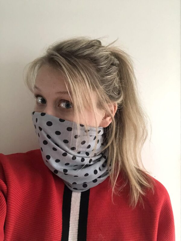 Bandana style face covering and scarf Set B - product image 4