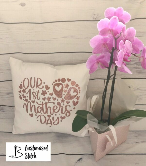 Our 1st Mother's Day cushion - main product image