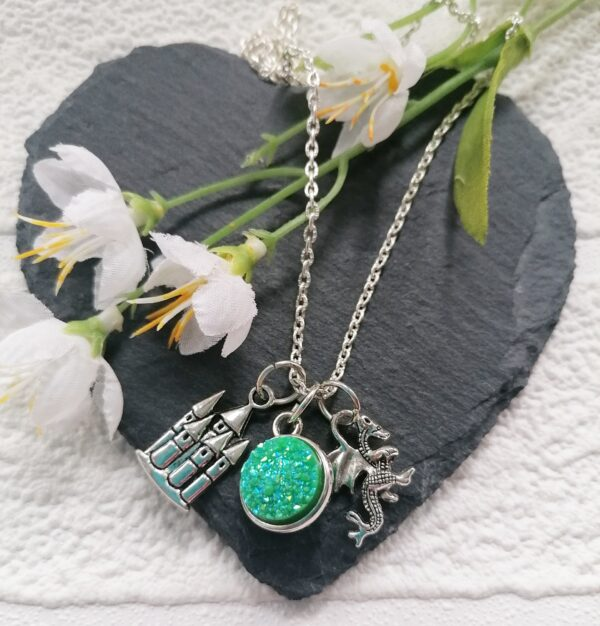 Dragon Druzy Necklace - main product image