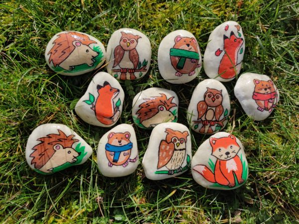 Little Pocket Pebble Pets for anxiety - main product image