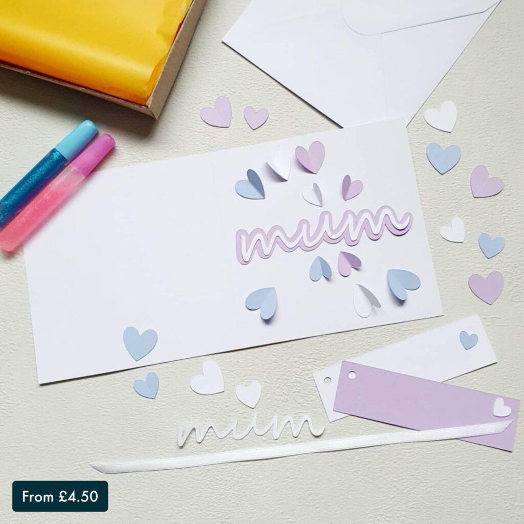 Mum Card & Gift Tag Making Kit