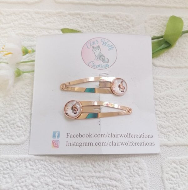 Butterfly Hair Slides - main product image