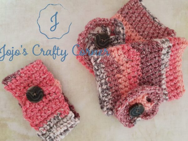 Mother's Day gift set Mug cosy and Handwarmers - product image 3