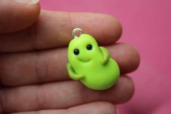 Green Beanie Bean - main product image