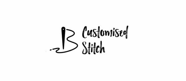 Customised stitch shop logo