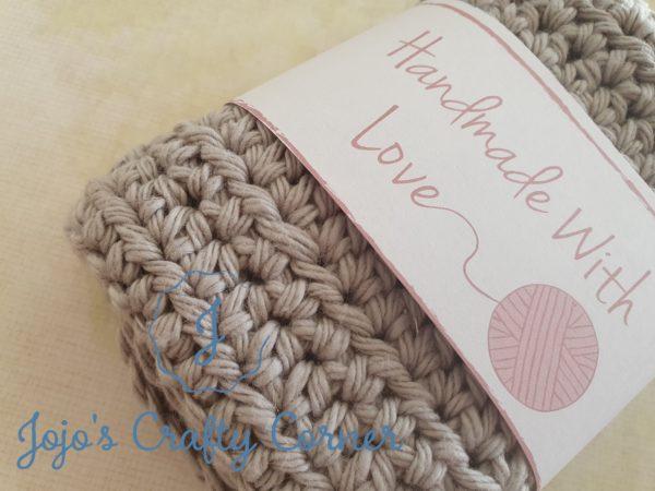 100% cotton crochet wash cloth - product image 2