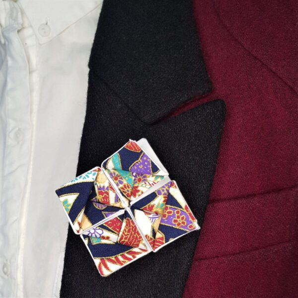 Origami brooch - main product image