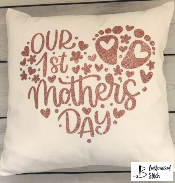 Our 1st Mother's Day cushion - product image 3