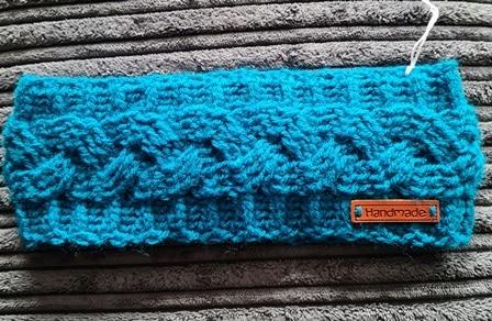 Handmade Crochet Cable Stitch Earwarmer - main product image