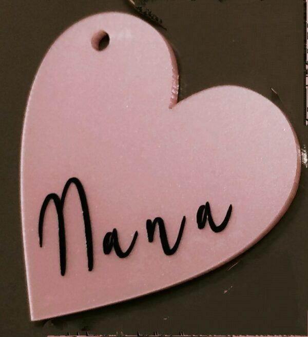 Pink heart keyring set - product image 3