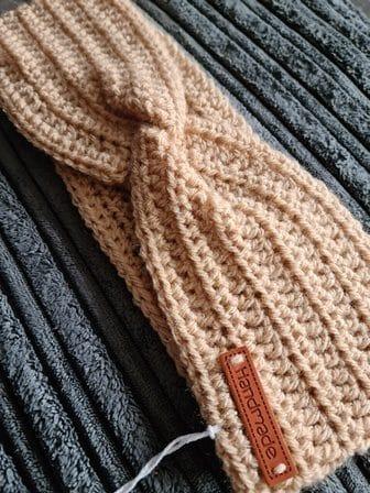Handmade Crochet Faux Knot Earwarmer - product image 2