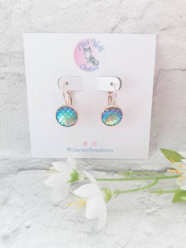 Mermaid Scale Earrings - main product image