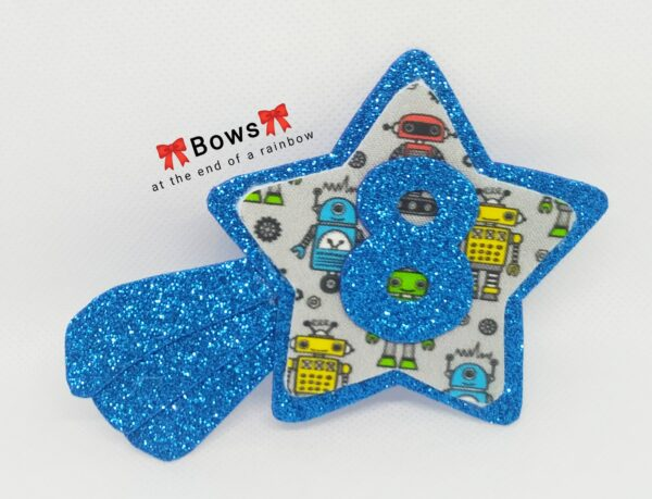 Shooting star birthday badge - product image 4