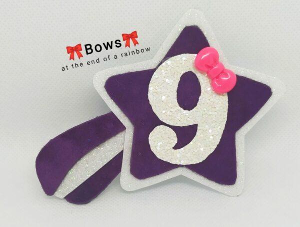Shooting star birthday badge - product image 2