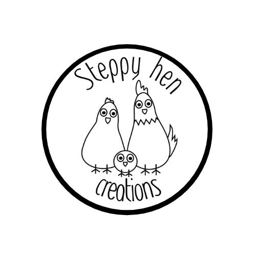 Steppy hen creations shop logo