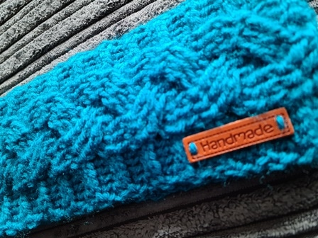 Handmade Crochet Cable Stitch Earwarmer - product image 2