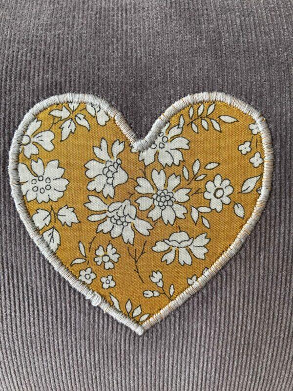 Personalised Liberty Handprint Cushion – 40 x 65cm - product image 2