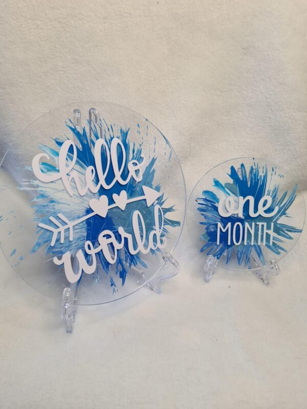 Acrylic plaques - product image 2