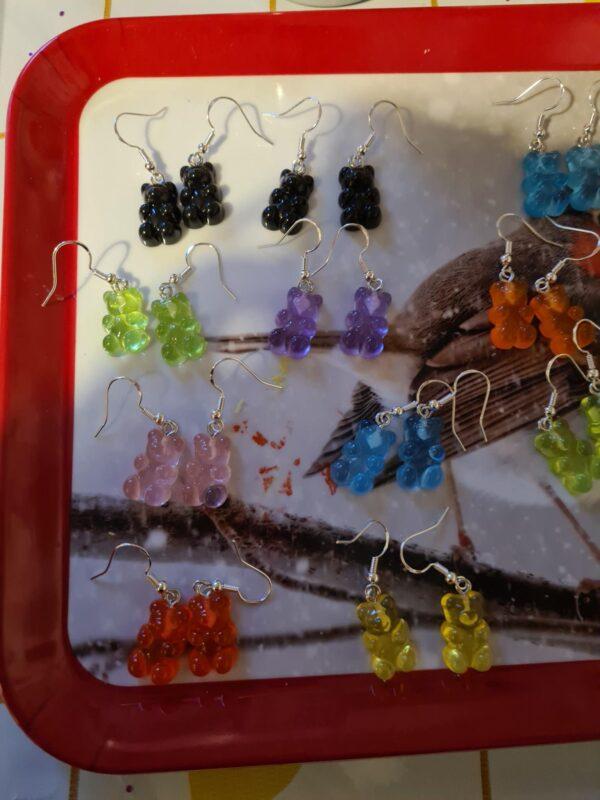 Gummybear earrings - main product image