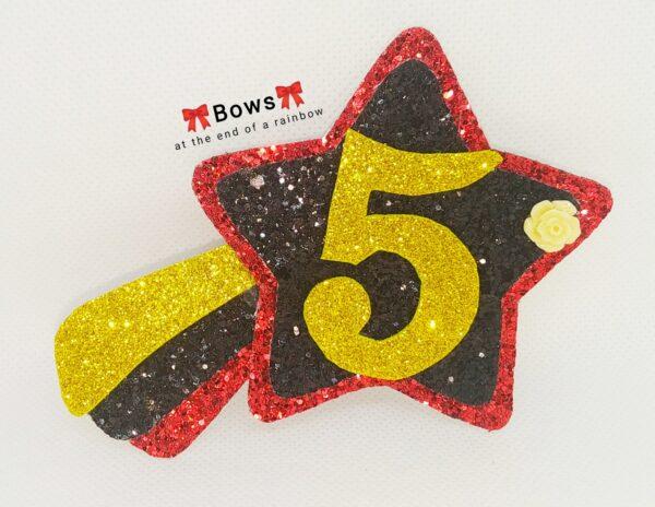 Shooting star birthday badge - product image 5