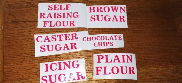 Baking Bundle Labels - main product image