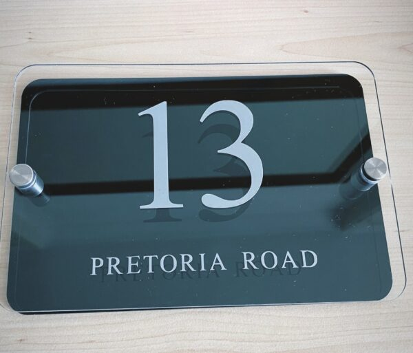 House Number Plaque - main product image