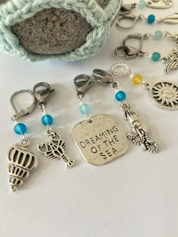 Seaside Themed Stitch Markers - product image 3