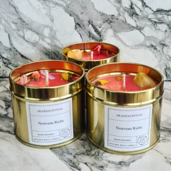 Wealth and Prosperity Manifestation Candles - product image 2