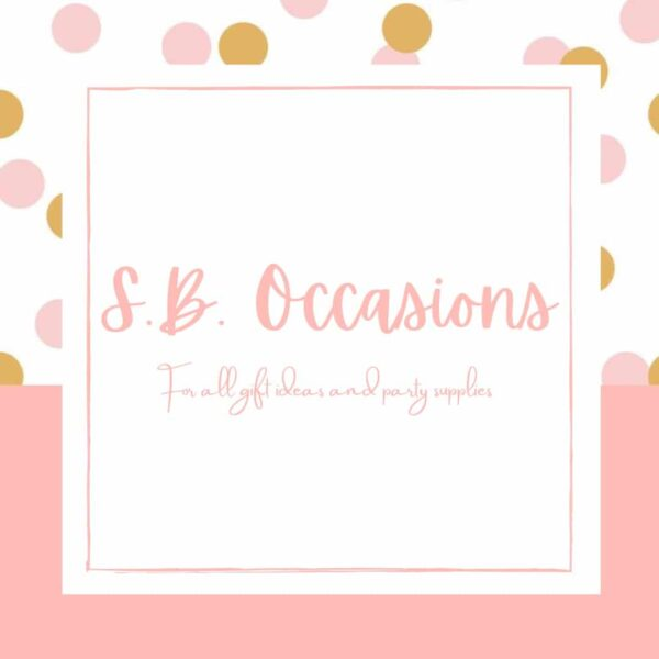 S.B. Occasions shop logo