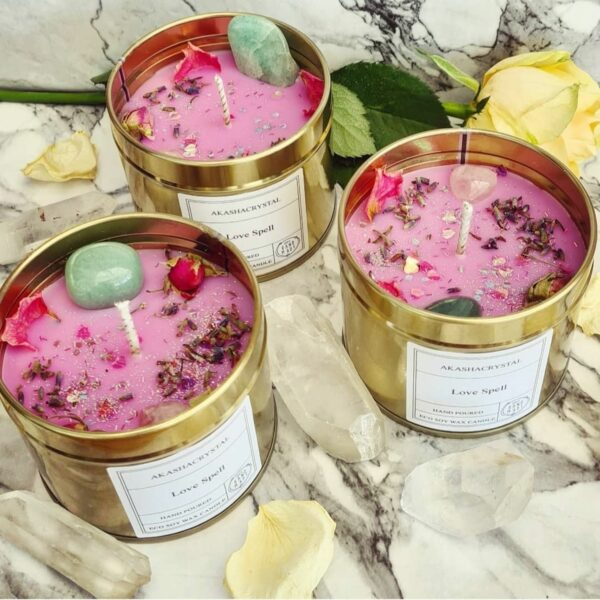 Law of Attraction Love Candles - main product image