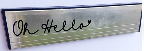 Letterbox oh…hello sticker - main product image