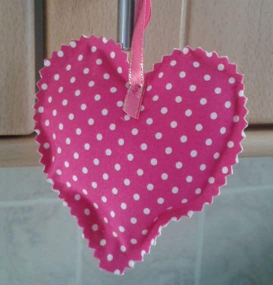 I Love Ballet Cross Stitch Heart – Medium - product image 4
