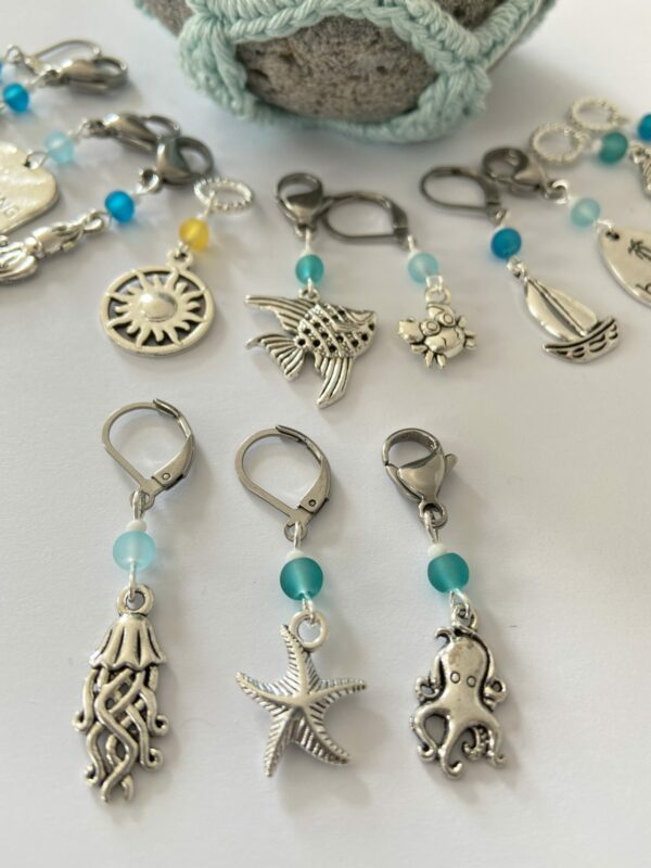 Seaside Themed Stitch Markers - product image 2