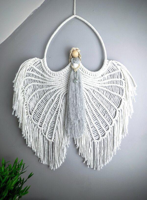 Macrame Angel wings/ Macramé/ Guardian Angel/ wall hanging/ wall decor/ Angel wings - product image 2