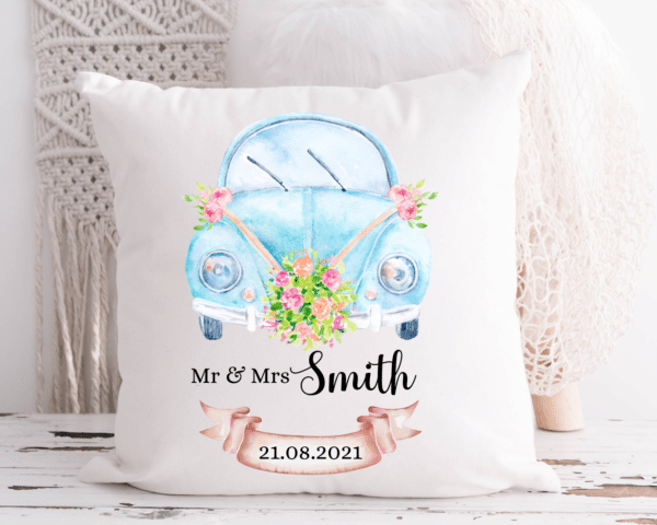Personalised Wedding cushion /cover. - main product image