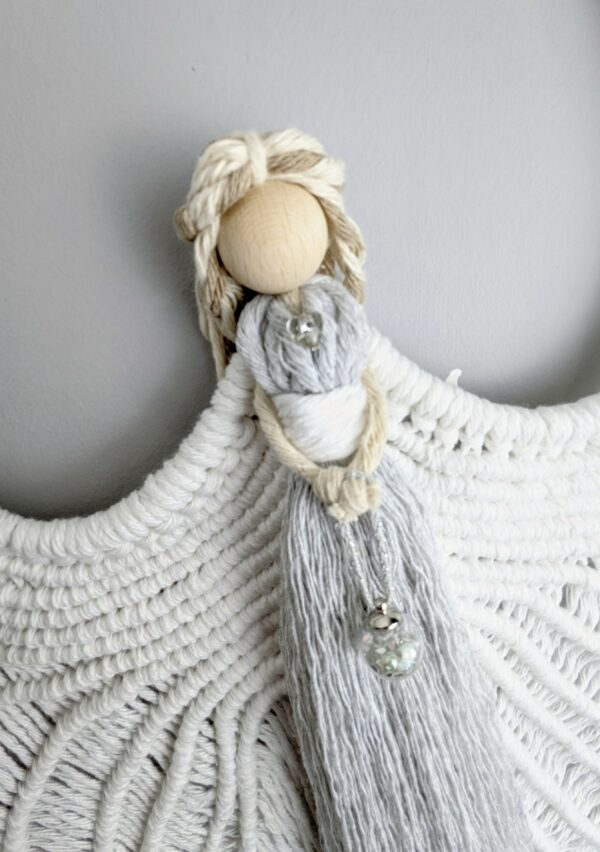 Macrame Angel wings/ Macramé/ Guardian Angel/ wall hanging/ wall decor/ Angel wings - product image 3