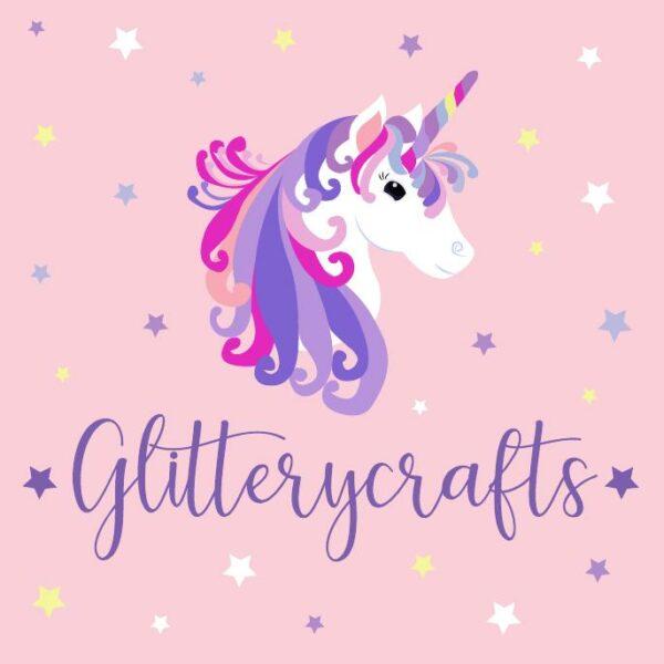 Glitterycrafts shop logo