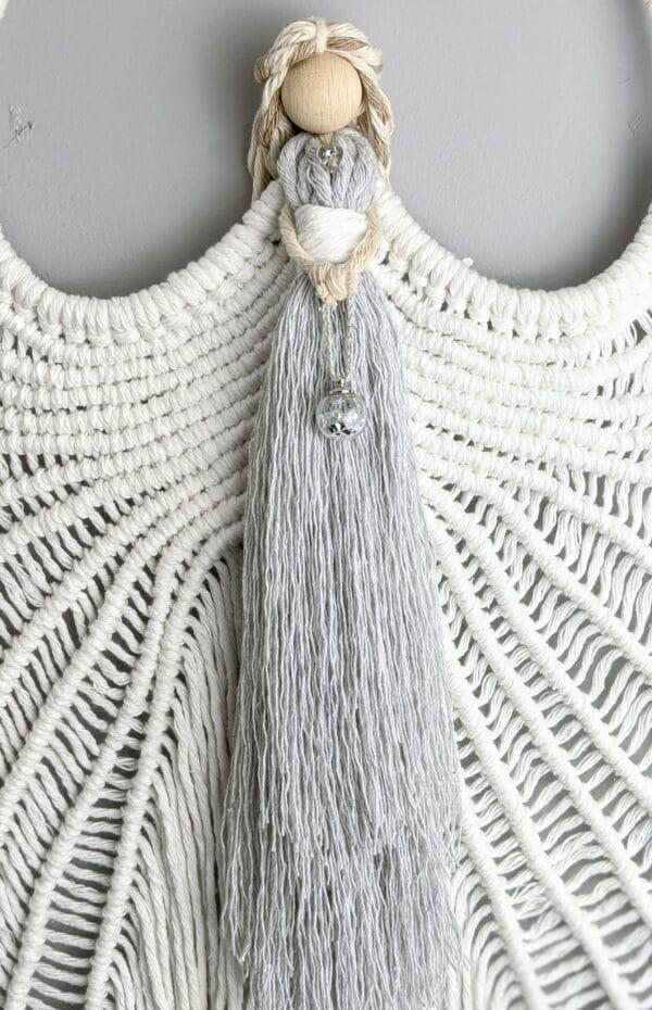 Macrame Angel wings/ Macramé/ Guardian Angel/ wall hanging/ wall decor/ Angel wings - product image 5