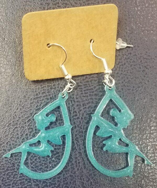 Fairy teardrop earrings - main product image