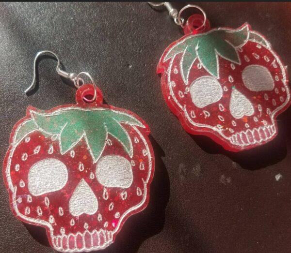 Skullberry Earrings - main product image