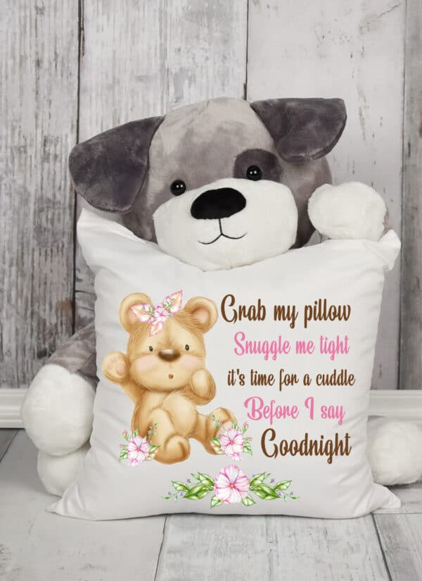 Teddy cushion cover. - main product image