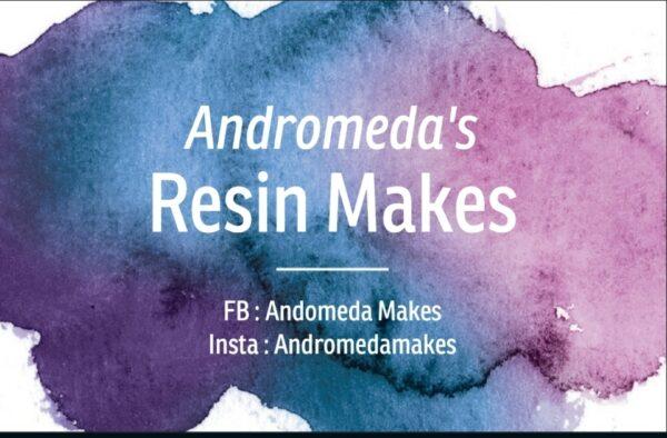 Andromeda Makes shop logo