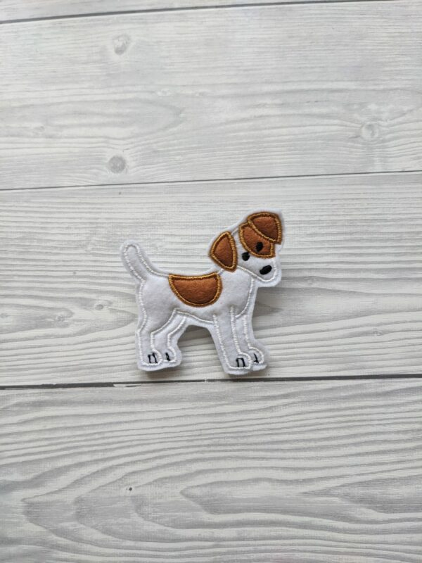 Cute Jack Russell Brooch - main product image