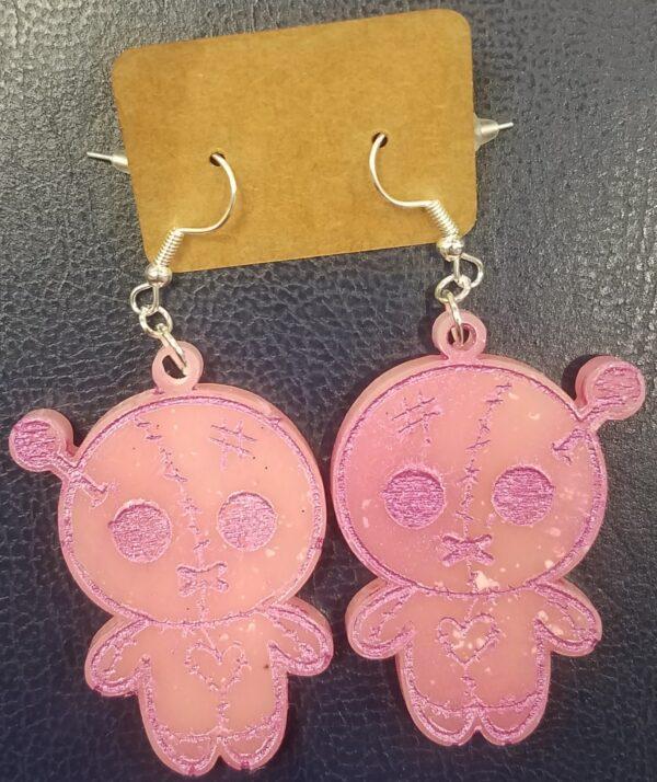 Cute voodoo doll earrings - product image 2