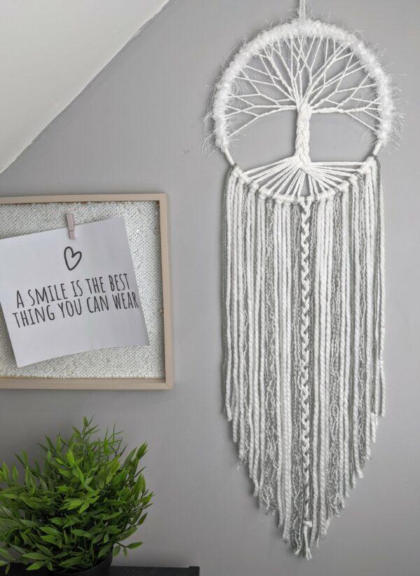 Tree Of Life, Dream Catcher, Handmade, Boho, Decor, Wall Hanging, Dreamcatcher, - product image 2