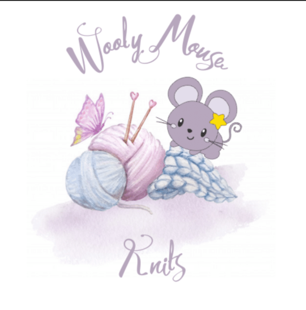 Wooly mouse knits shop logo